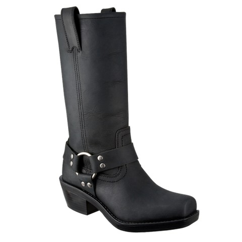 Women's Katherine Leather Engineer Boot - Mossimo Supply Co.
