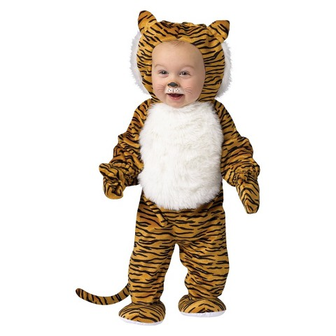 Infant/Toddler Cuddly Tiger Costume