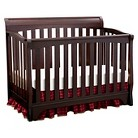 Delta Children's Products Eclipse 4-in-1 Convertible Crib - Black Cherry