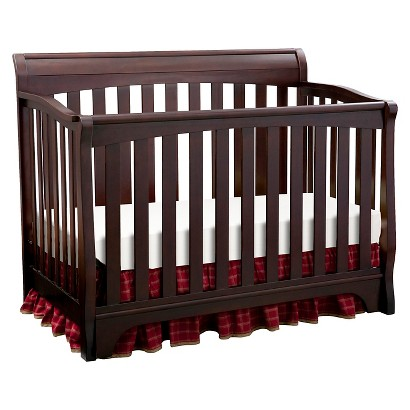 Crib sale target canada - Eclipse 4 In 1 Convertible Crib Black Cherry Product Details Page