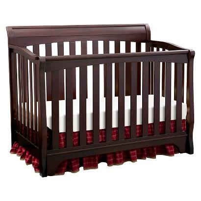Delta Children's Products Eclipse 4-in-1 Convertible Crib - Black Cherry