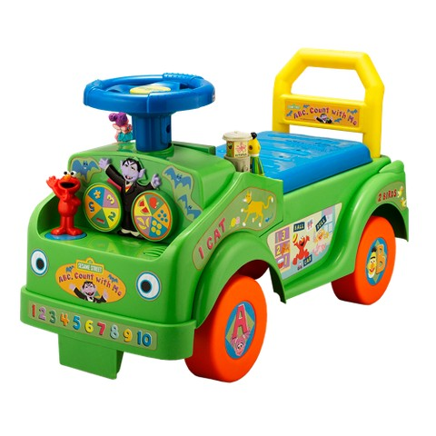 Tek Nek Sesame Street ABC Count with Elmo and Friends Ride On