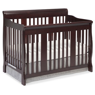 Stork Craft Tuscany 4-in-1 Convertible Crib - Cherry
