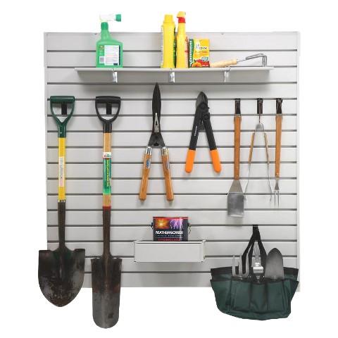 Garagemaid GM42SLATXX Easy Wall Slat Wall Kit