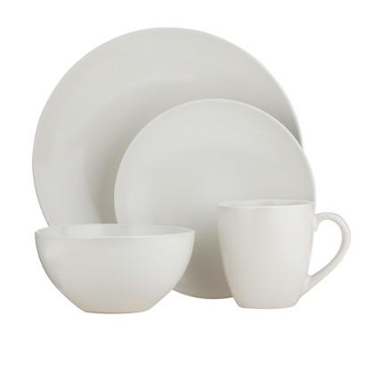 Granite 16-pc. Dinnerware Set - White