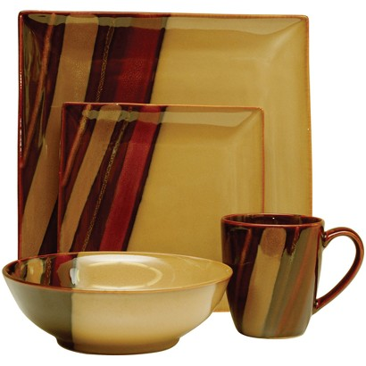 Avanti Brown 16-pc. Dinnerware Set