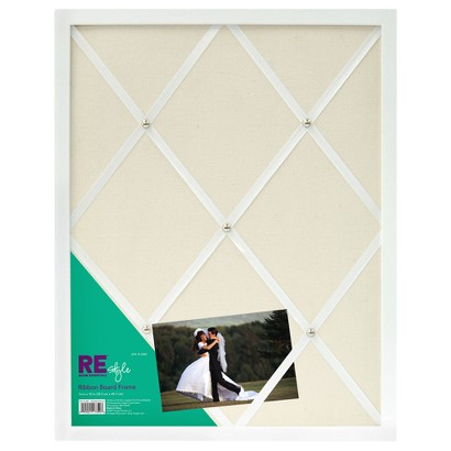 Room Essentials™ Gallery Ribbon Board - White 14x18