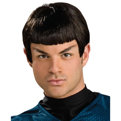 Men's Star Trek Classic Spock Wig with Ears Adult