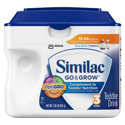 Similac® Go & Grow Powder - 1.38lb (6 pack)