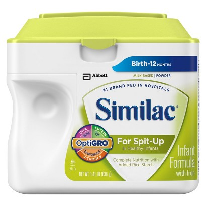 Similac® For Spit-Up Powder - 1.41lb (6 pack)