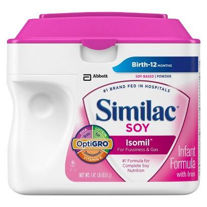 Similac® Soy Isomil Powder - 1.45lb (6 pack)