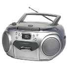 Emerson AM/FM Portable CD Player - Silver (PD6548SL)