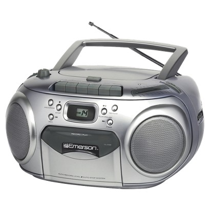 Emerson AM/FM Portable CD Player - Silver (PD6548SL)
