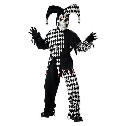 Boy's Evil Jester Costume - XL
