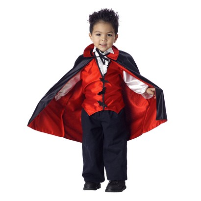 Boy's Vampire Costume - Small(4-6)