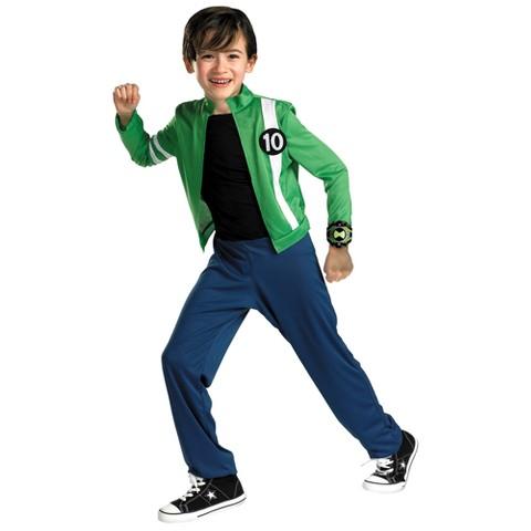 Boy's Ben 10 Alien Force Costume