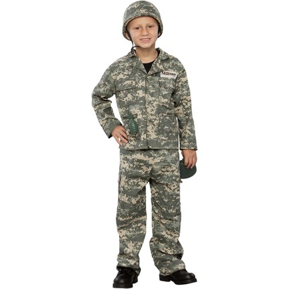 Boy's Army Soldier Costume