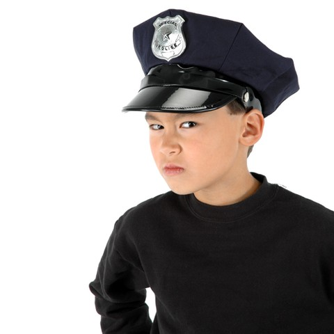 Police Chief Kids Hat
