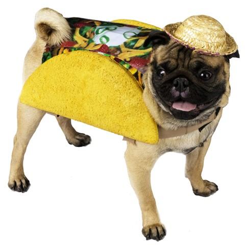 Taco Pet Food Dog Costume