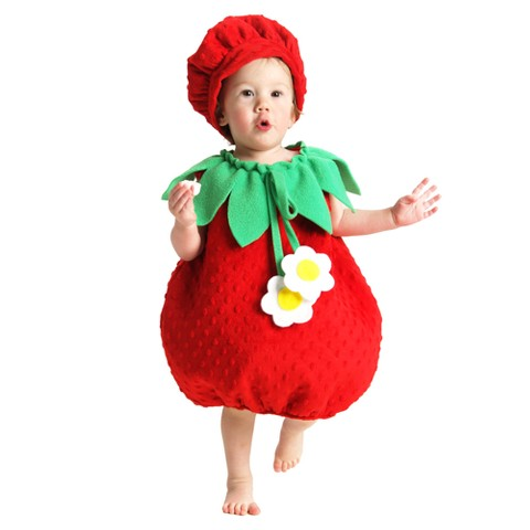 Infant Girl Strawberry Costume