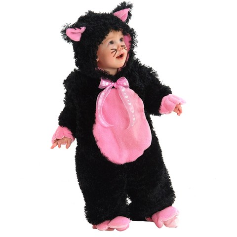 Infant Black Kitty Costume