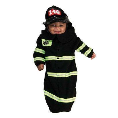 Infant Firefighter Deluxe Bunting Costume 0-6 Months