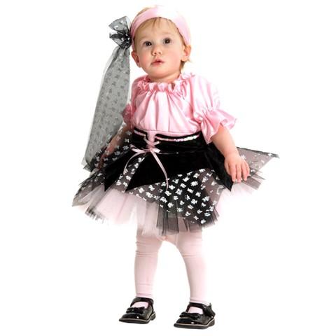 Infant/Toddler Girl Little Pirate Costume