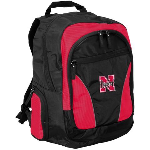 Logo Nebraska Backpack - Black/ Red
