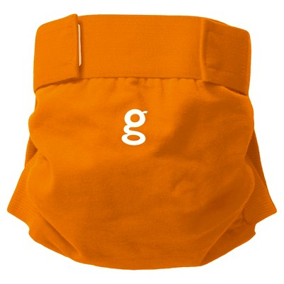 gDiapers gPants - great orange, medium