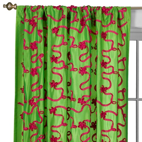 Lily Rod Pocket Curtain Panel