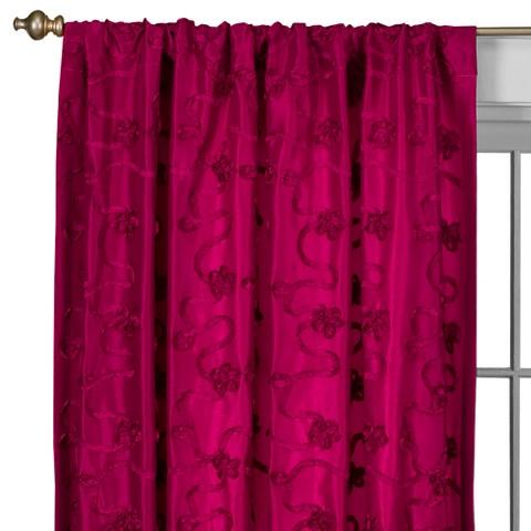 Lily Rod Pocket Curtain Panel