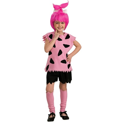 Girl's Flintstones Pebbles Costume