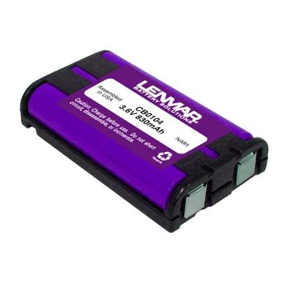 Lenmar CB0104 Replacement Battery for Panasonic HHR-P104, HHR-P104A, P-P104 Cordless Phones