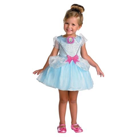 Toddler Girl Cinderella Ballerina Costume - Large(4-6x)