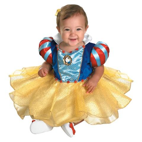 Infant Girl Snow White Costume 12-18 Months