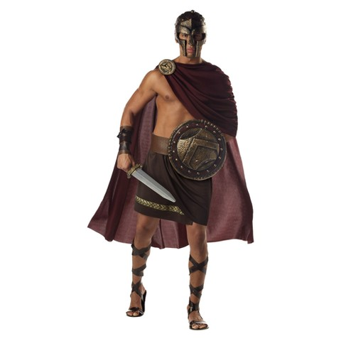 Men's Spartan Warrior Costume