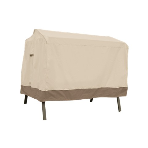 Patio Swing Cover - Beige/Brown