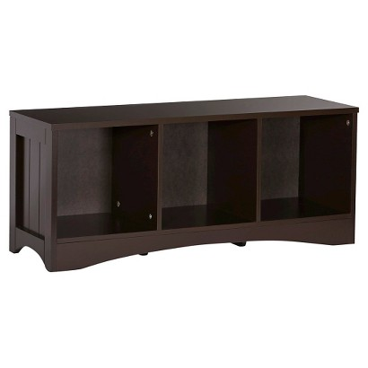 RiverRidge Kids Storage Bench- Espresso