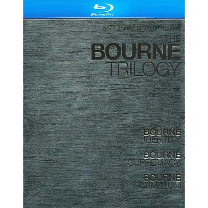 The Bourne Trilogy (3 Discs) (Blu-ray) (Widescreen)