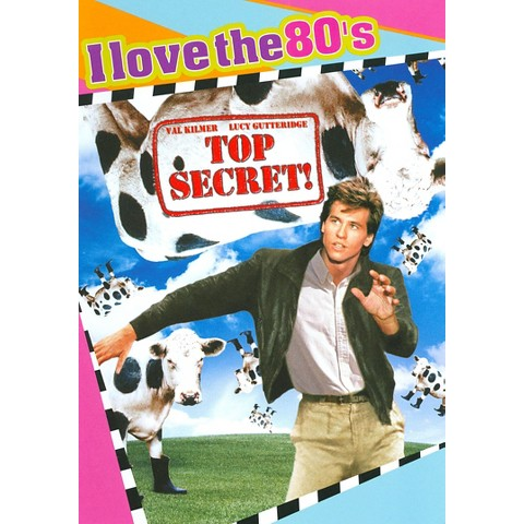 Top Secret (I Love the 80's Edition) (DVD/CD) (Widescreen) (Combination DVD and audio CD)