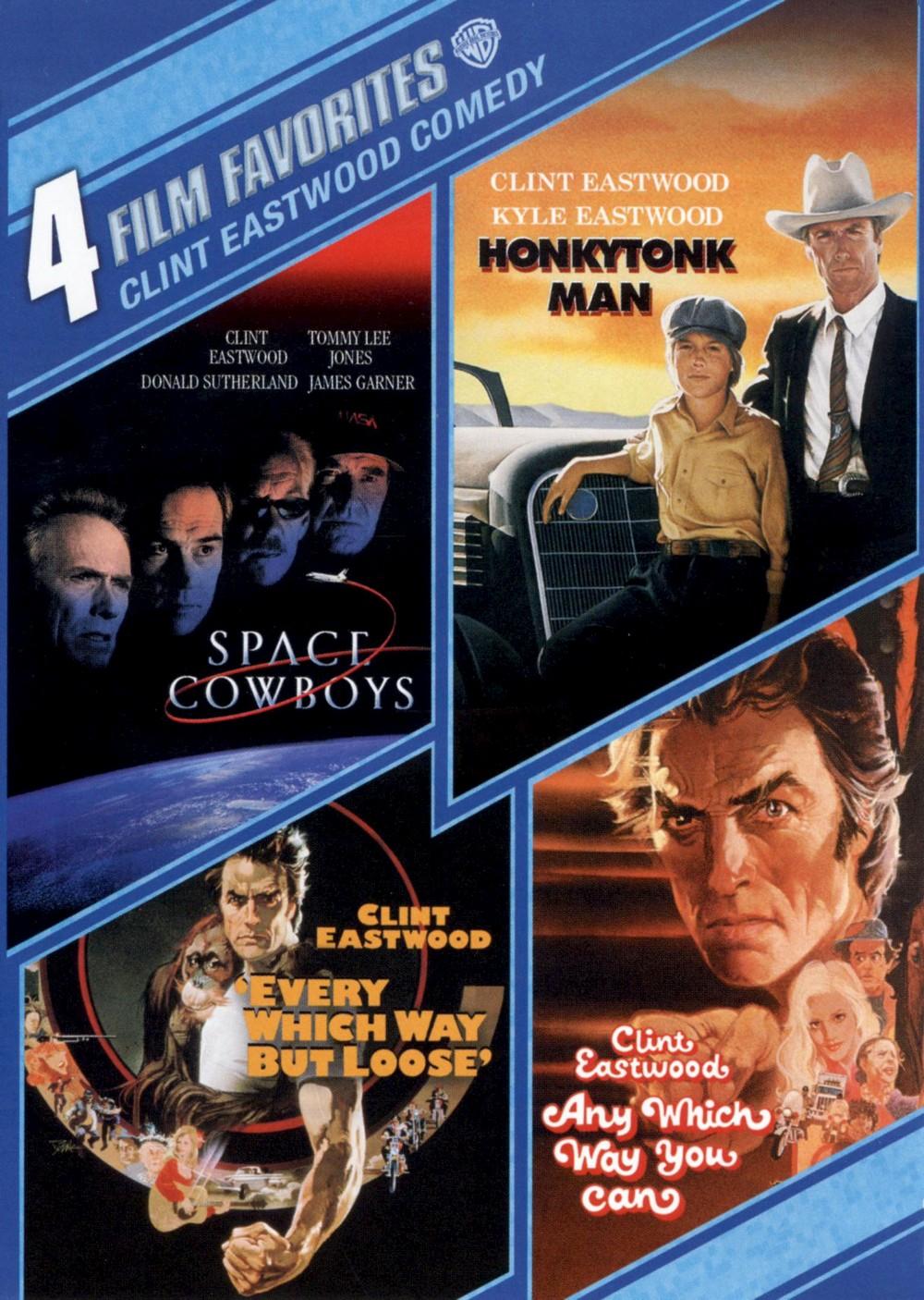 Clint Eastwood Comedy: 4 Film Favorites [WS] [2 Discs]