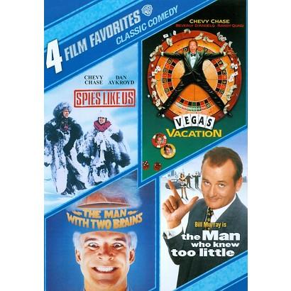 Classic Comedy: 4 Film Favorites (2 Discs) (S)