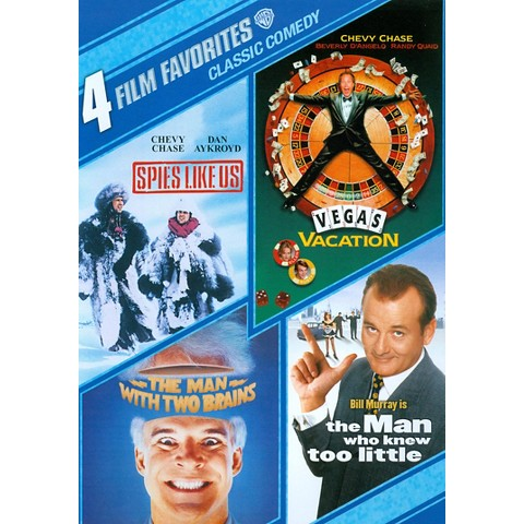 Classic Comedy: 4 Film Favorites (2 Discs) (S)