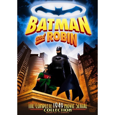 Batman and Robin: The Complete 1949 Movie Serial Collection (2 Discs) (R)