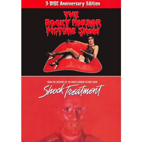 The Rocky Horror Picture Show (25th Anniversary Edition)/Shock Treatment (3 Discs)