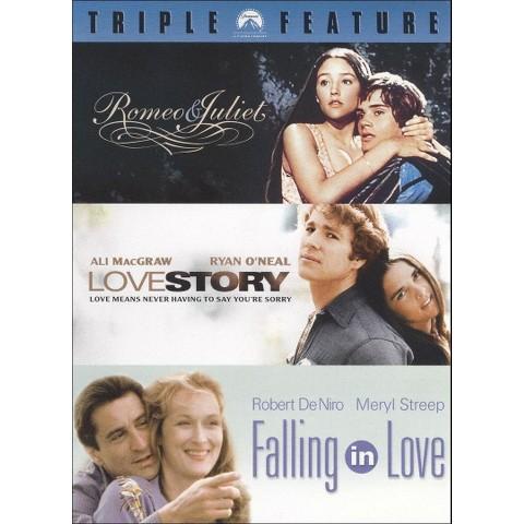 Romeo & Juliet/Love Story/Falling in Love (3 Discs) (Widescreen)