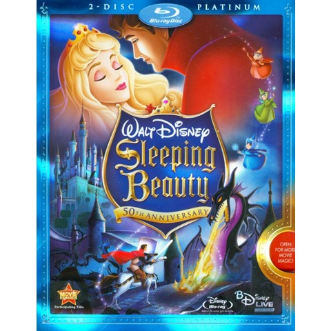 Sleeping Beauty (50th Anniversary Edition) (2 Discs) (Blu-ray/DVD) (R) (Widescreen)