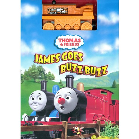 Thomas & Friends: James Goes Buzz Buzz (With Toy)