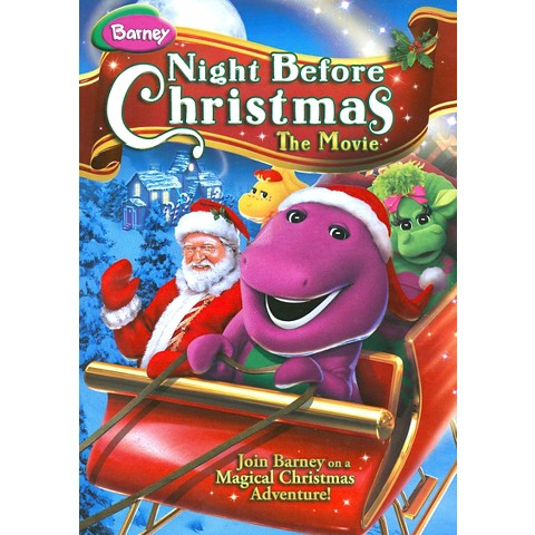 Barney: Night Before Christmas - The Movie (With Color and Activity Book)