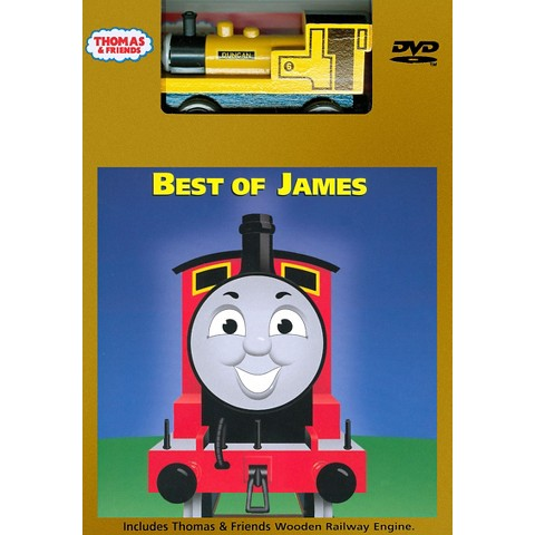 The Thomas & Friends: Best of James (With Toy)